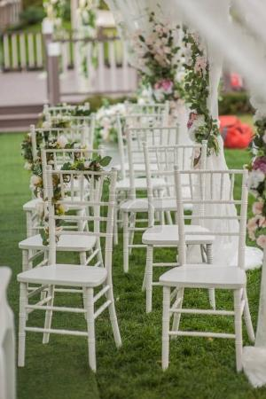 wedding decorations tables chairs flowers