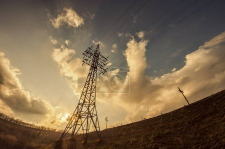 electric post station