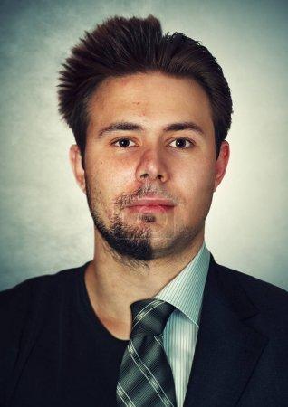Young man breakdancer portrait