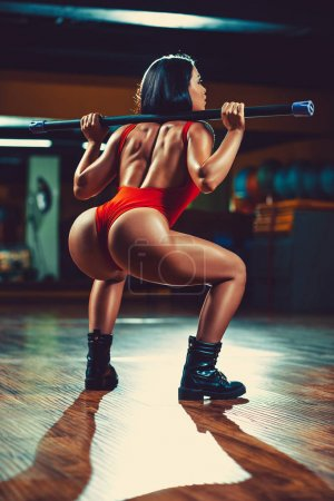 Sports sexy woman