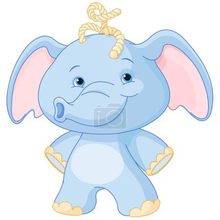 cartoon elephant baby