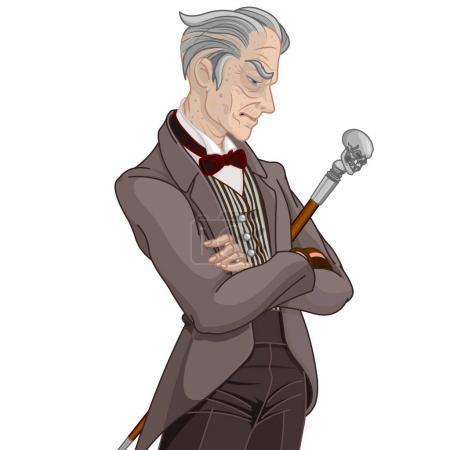 young Victorian era gentleman