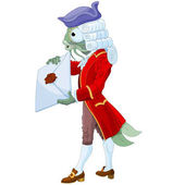 The Fish Footman Delivering an Invitation to the Duchess