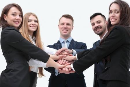 closeup.business team shows its unity