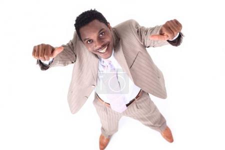 Photo pour Succès dans business.photo d'homme d'affaires confiant - image libre de droit