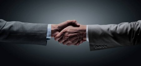 in a sign of partnership and cooperation - to reach each others
