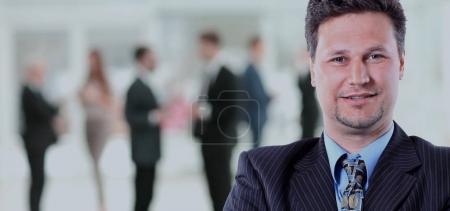 Photo pour Portrait d'un homme d'affaires senior - image libre de droit