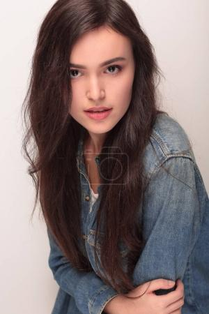 Portrait of a happy young woman
