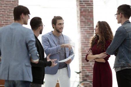 Business: Team having a serious argument