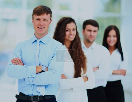 Group portrait of a professional business team.