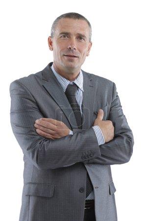 rostro de un exitoso hombre de negocios