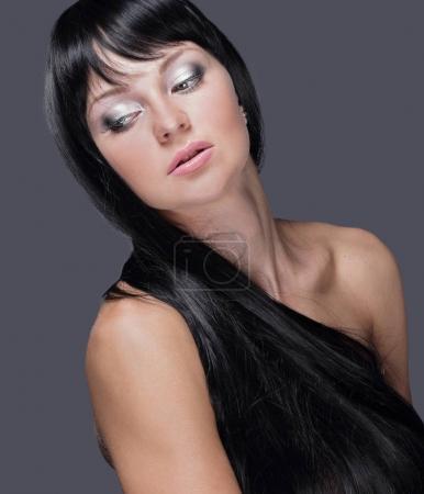 Beautiful Woman Spa Model.