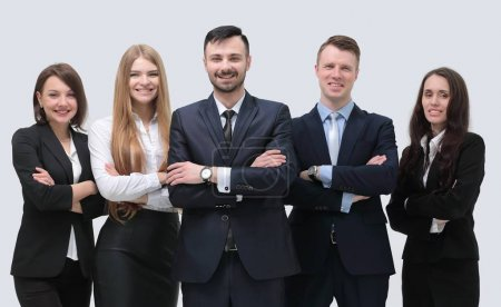 portrait of a professional office staff