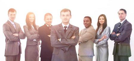 portrait of multiethnic business team