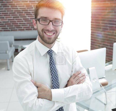 portrait of a prospective employee