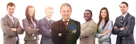 Photo for Concept of success in business:professional business team - Royalty Free Image