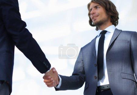 Foto de Equipo de negocios discutiendo proyecto . - Imagen libre de derechos