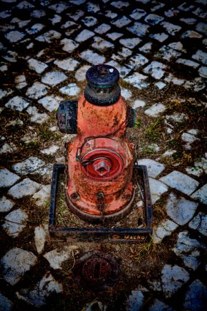 ritt vier hydrant in lissabon portugal