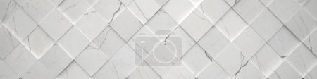 Wide Tiled Marble Backdrop