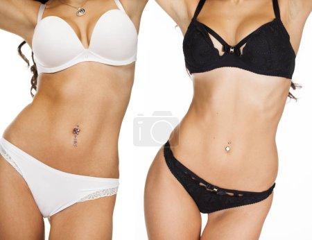 Collage sexy women body