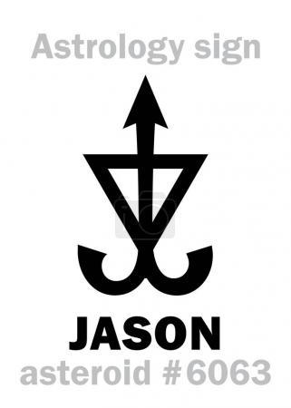 Astrology: asteroid JASON