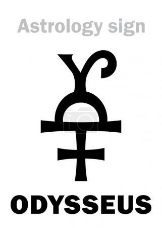 Astrology Alphabet: ODYSSEUS (Ulysses), asteroid #...