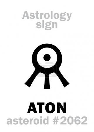 Astrology Alphabet: ATON (Aten), asteroid #2062. H...
