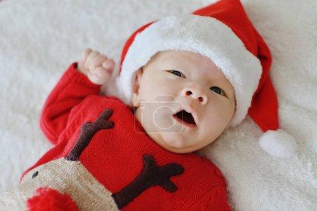 newborn ready for christmass