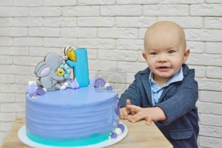 his first birthday