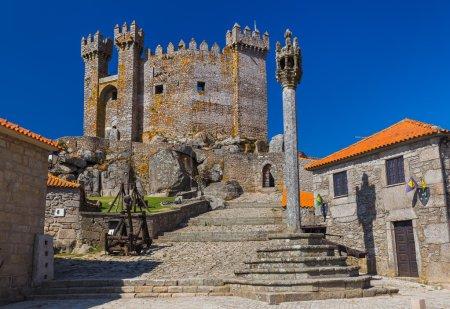 Castle in town Penedono - Portugal