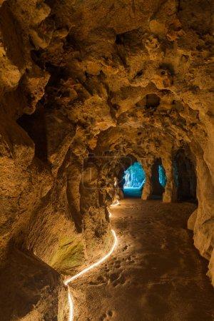 Underground tunnel in Castle Quinta da Regaleira
