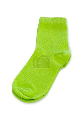Female socks isolated on white background