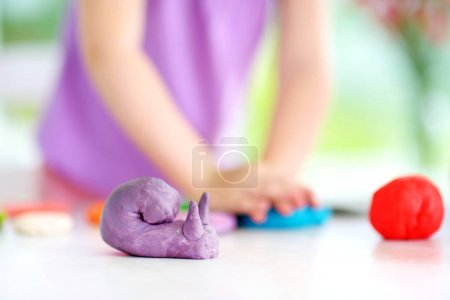 snail figure and little girl