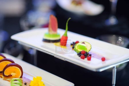 Molecular modern cuisine
