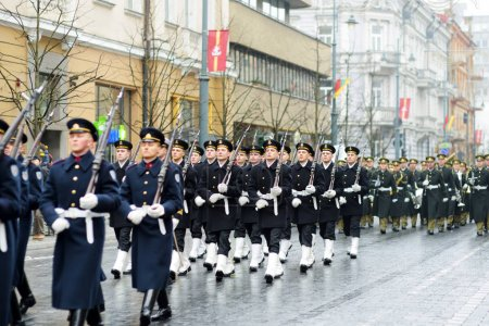 parade as Lithuania marked 27th anniversary of independence