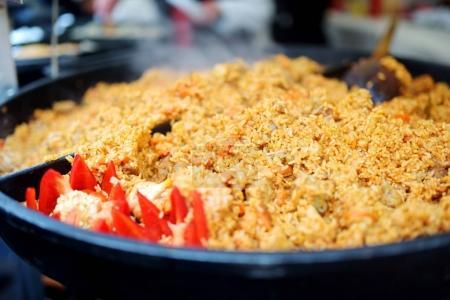 Délicieux riz à la viande