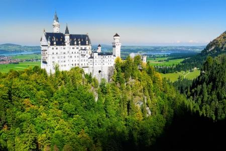 Famous Neuschwanstein Castle, Bavaria, Germany