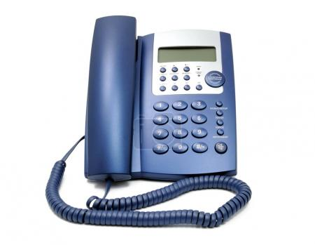 Telephone collection - business phone close up