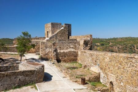 The Carouche Tower of the Mertola Castle. Mertola. Portugal
