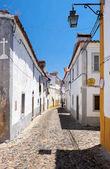 """Постер, картина, фотообои """"По мнению уютные узкие улицы Эвора. Португалия"""""""
