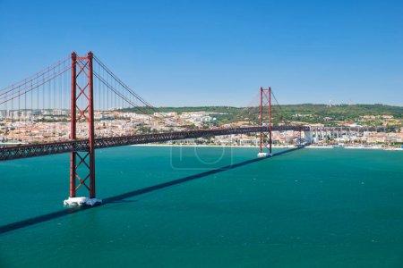 25 of April Bridge (Ponte 25 de Abril) – a suspension bridge o