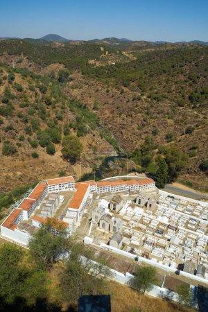 Cemetery of the main church (Igreja matriz) in Mertola. Portugal