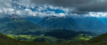 Greater Caucasus Mountain Range.