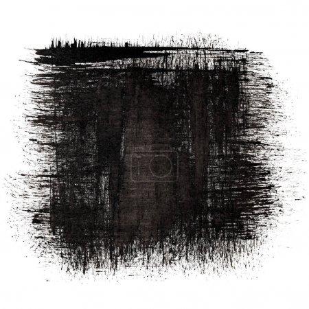 Photo pour Place de l'encre noire - abstrait - image libre de droit