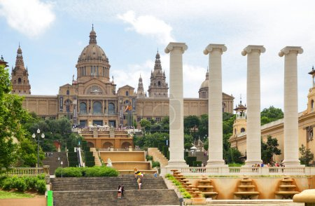 National Palace on Montjuic hill