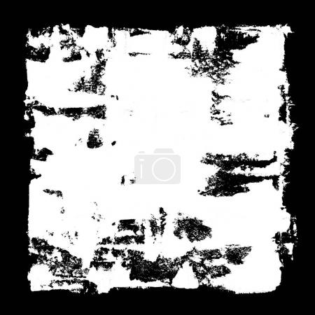 Photo for White square frame -  grunge abstract background - Royalty Free Image
