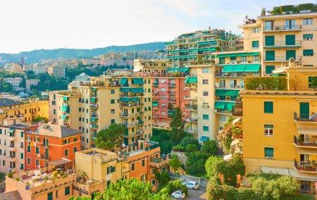 Photo pour Immeubles à Gênes, Gênes, Italie - image libre de droit
