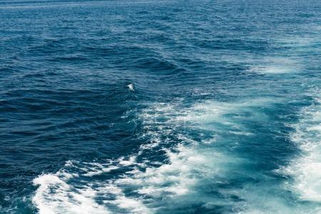 deep sea and waves