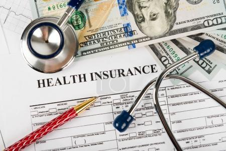 Health care costs concept