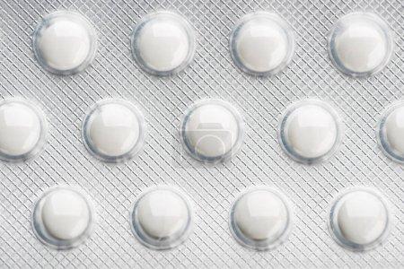 medicine pills in blister
